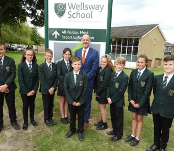 Wellsway School still Good - and getting better!